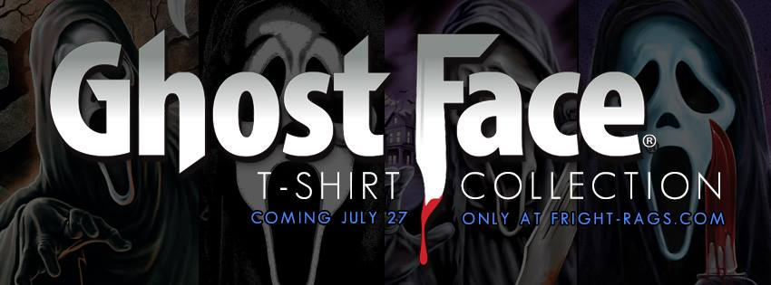 GhostFace T-Shirts from Fright-Rags