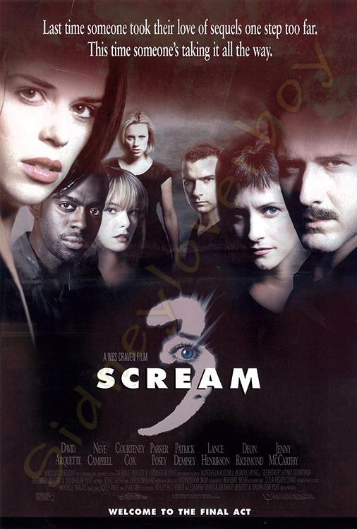 scream 3 movie info ghostfacecouk ghostfacethe icon