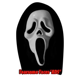 Original Halloween Ghostface Scream Reshoot Mask Rare