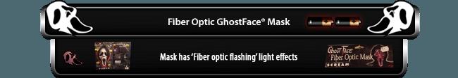 Fiber Optic GhostFace Mask