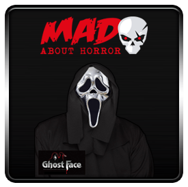 Silver 25 Year GhostFace Mask