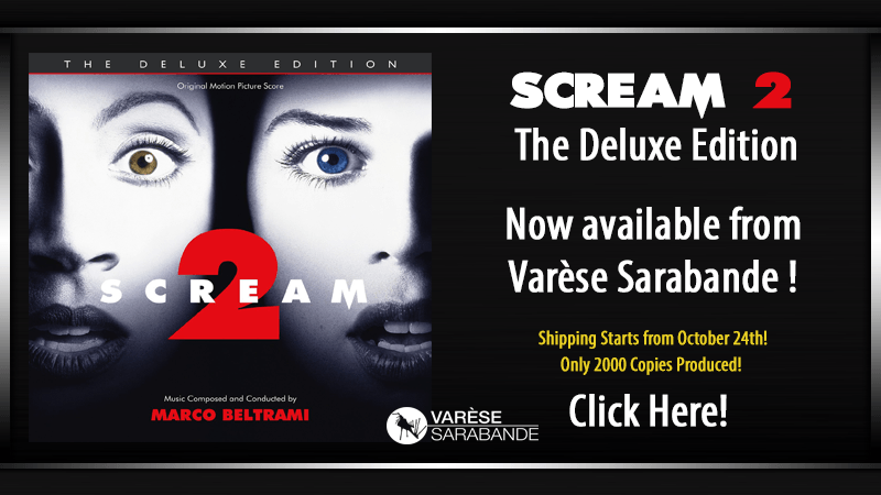 Scream 2 The Deluxe Edition Score CD