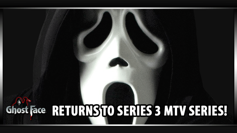GhostFace Mask returns to TV Series 3!