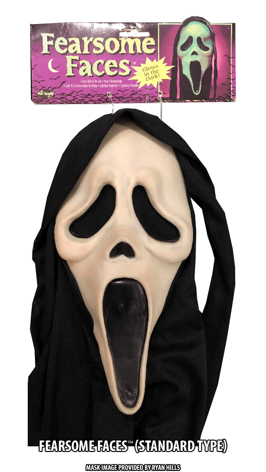 Fearsome Faces GhostFace mask Standard Type
