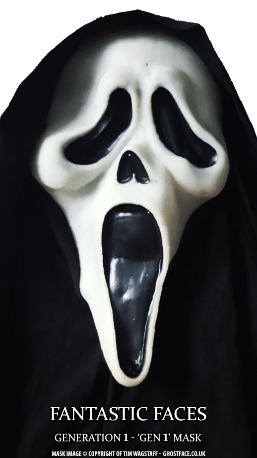 Fantastic Faces Gen 1 Generation 1 GhostFace Mask
