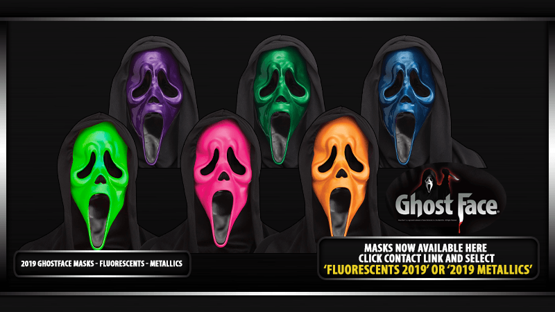 2019 GhostFace Masks