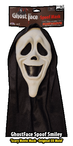 GhostFace Spoof Mask Smiley