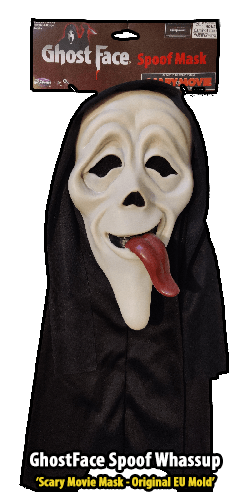 GhostFace Spoof Mask Whassup