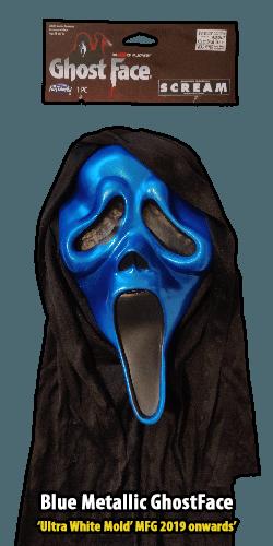 2019 Ultra White GhostFace Blue Metallic