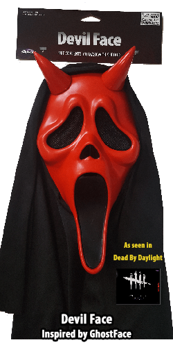 Devil Face GhostFace Inspired