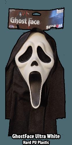 GhostFace Hard Pu Plastic Mask