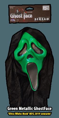 2019 Ultra White GhostFace Green Metallic