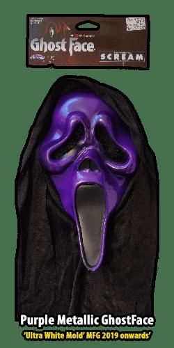 2019 Ultra White GhostFace Purple Metallic