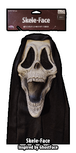 Skele-Face Mask GhostFace Inspired