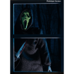 NECA GhostFace Prototype Green Fluorescent