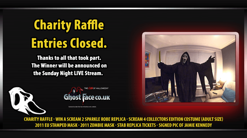 Charity Raffle - Entries Closed.