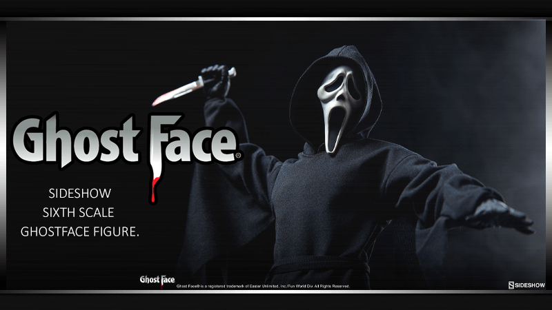 Sideshow Sixth Scale GhostFace Figure