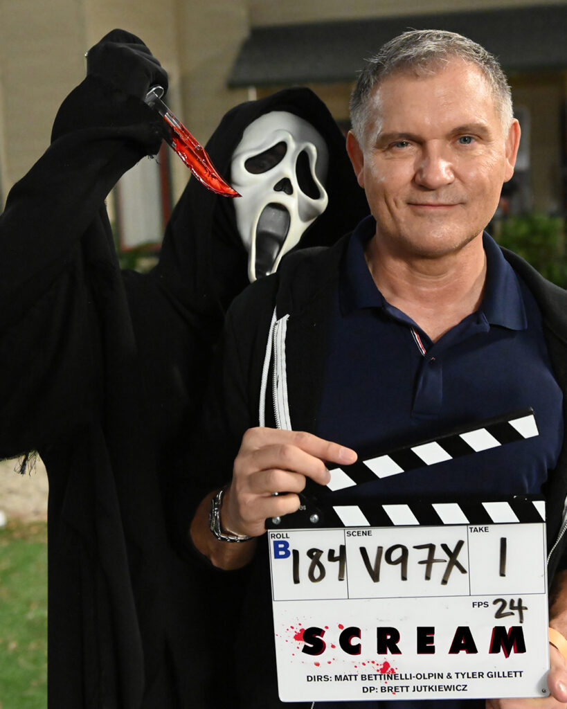 Kevin Williamson and GhostFace 2020