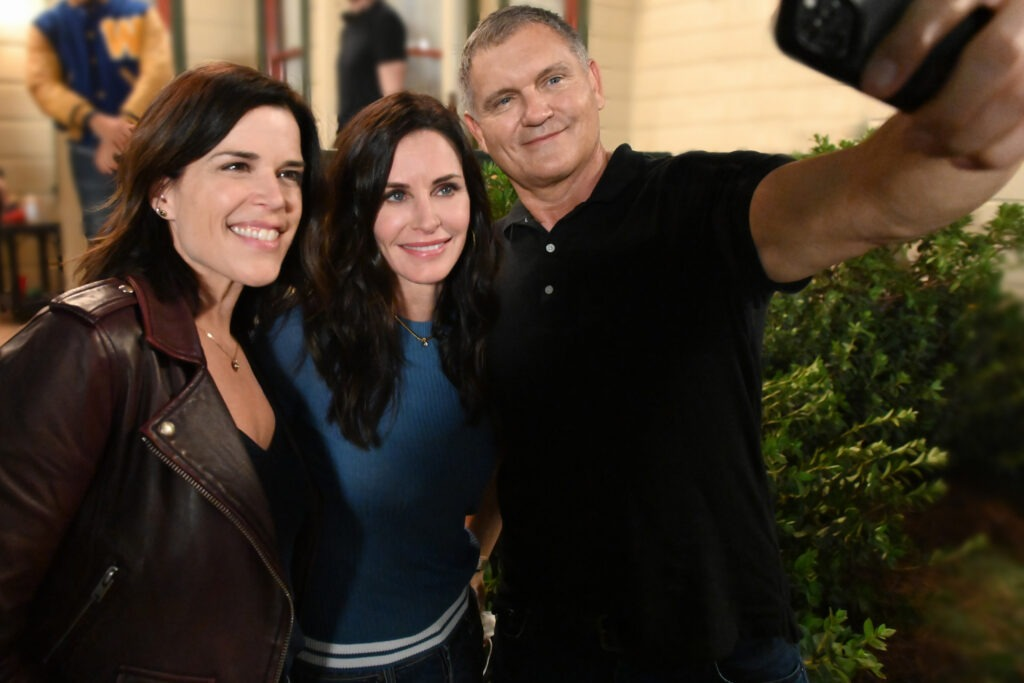 Kevin Williamson Courteney Cox Neve Campbell