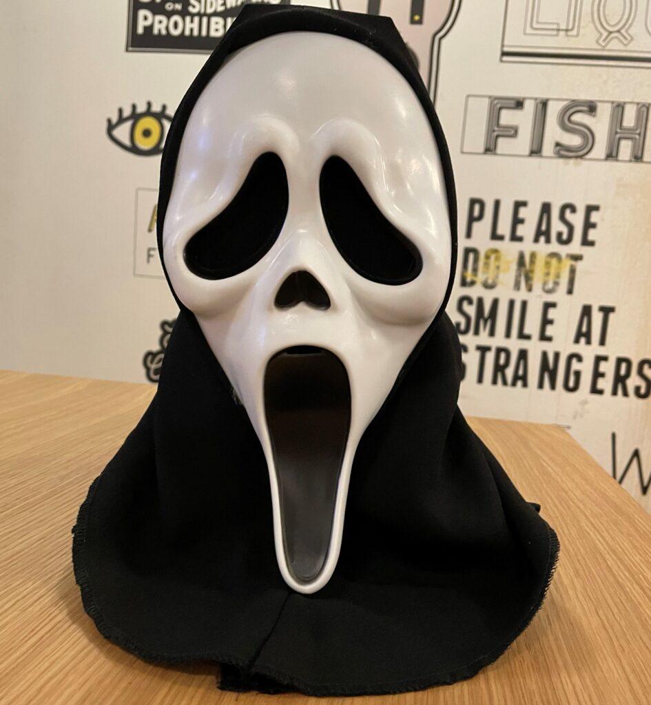 Screen Worn GhostFace Mask